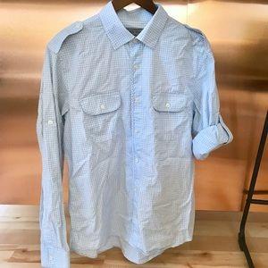 Michael Kors checkered shirt